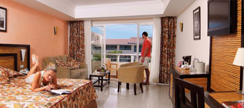 Riviera Junior Suite - Sandos Playacar Beach Resort & Spa - All Inclusive - Cancun, Mexico